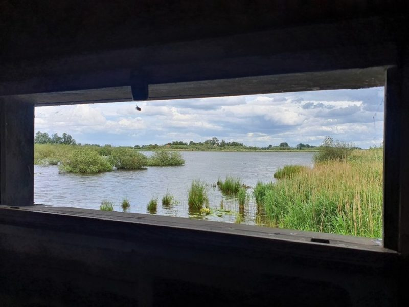Op twee km afstand van      De Kan Hoeve.                     Voor de vogelliefhebber.